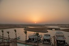 Free Sunset In Marsa Alam Bay Egypt Stock Photography - 19770512