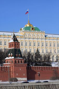 Free Moscow. Grand Kremlin Palace. Stock Photography - 19770572
