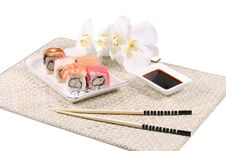 Free Japanes  Sushi Royalty Free Stock Image - 19770856