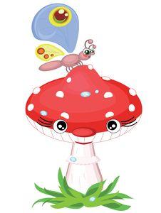 Free Mushroom Royalty Free Stock Photos - 19771188
