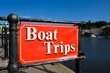 Free Boat Trips Royalty Free Stock Photo - 19771195