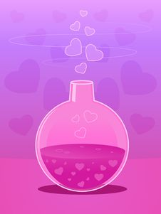 Free Love Potion Stock Images - 19771744