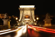 Free Chain Bridge In Budapest, Hungary Stock Image - 19772691