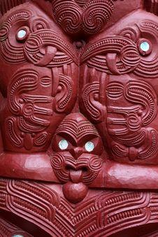 Free Maori Carvings Stock Image - 19772791