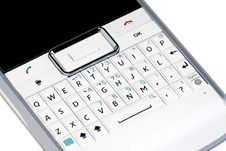 Free Smartphone Qwerty Keyboard Royalty Free Stock Images - 19773279