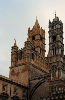 Free Cathedral Palermo Stock Photography - 19773302