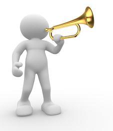 Free Trompet Stock Image - 19773761