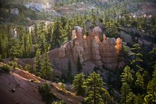 Free Beautiful Landscape In Bryce Canyon Stock Photography - 19774282