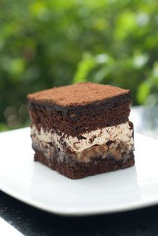 Free Chocolate Cake Royalty Free Stock Photos - 19774348