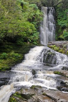 Free McLean Falls,The Catlins Stock Image - 19775391