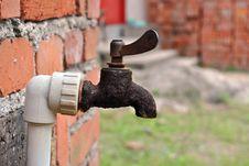 Free Old Metal Water Tap Stock Photo - 19775570