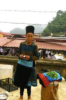 Free Black Hmong Woman Stock Photo - 19776920
