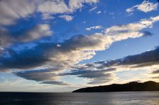 Free Sunset At Cook Strait, New Zealand Stock Image - 19777261