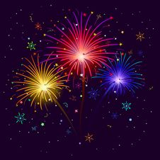 Free Fireworks Stock Photography - 19778552