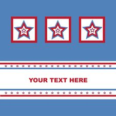 American Colored Stars Card Stock Photos