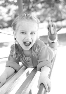 Free Little Girl Smiling Royalty Free Stock Photography - 19778897