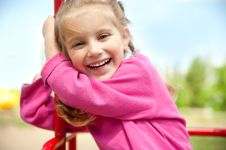 Free Little Girl Smiling Stock Photo - 19778990