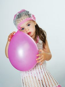 Free Child With Balloons Royalty Free Stock Photography - 19779007