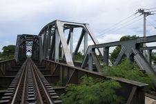 Free Railway Bridge Royalty Free Stock Photos - 19779218