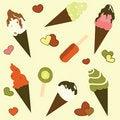 Free Ice Cream Background Royalty Free Stock Photo - 19780175