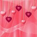 Free Pink Valentine Hearts Stock Photo - 19781550