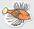 Free Vector Color Fish For Your Design. Stock Photography - 19784642
