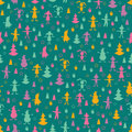 Free Christmas Seamless Pattern Stock Images - 19787404