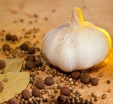 Free Garlic And Spices Stock Images - 19780344