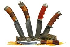 Free The Hunting Knife Royalty Free Stock Photo - 19780525