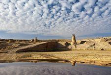 Free Desert Lake After Tropical Rain, Israel Royalty Free Stock Photography - 19780607