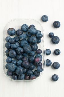 Free Box With Fresh Blueberry Stock Photos - 19781003