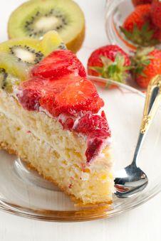Free Fruit Cake Royalty Free Stock Image - 19781186