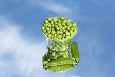 Free Fresh Green Pea Stock Photo - 19781410