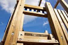 A Childrens Play Structure Stock Images