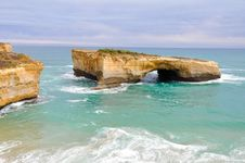 London Bridge,Great Ocean Road Stock Image