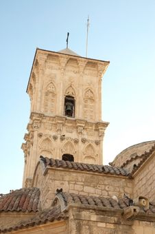 Free Bell Tower Of St. Lazaros Church Royalty Free Stock Image - 19781936
