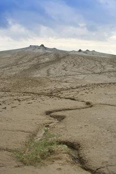 Buzau - Mud Volcanoes Royalty Free Stock Photography