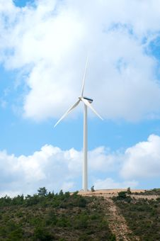 Wind Mill Power Generator Royalty Free Stock Photos