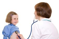 Free Doctor And Child Stock Images - 19783184