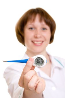 Free Woman Doctor Royalty Free Stock Photography - 19783277