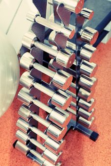 Free Dumbbell Stock Photography - 19783372