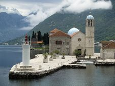 Free Kotor Bay Islands Stock Images - 19783804