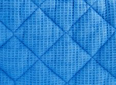 Texture Of Quilted Fabric Royalty Free Stock Photo