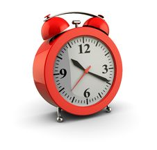 Free Red Alarm Clock Stock Images - 19787334