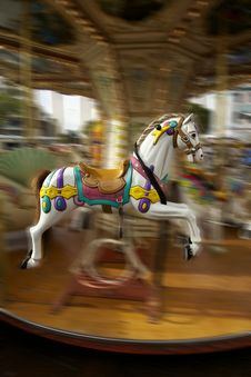 Free Carousel Horse Stock Photo - 19788330