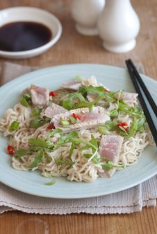 Free Tuna With Noodles Stock Image - 19789031