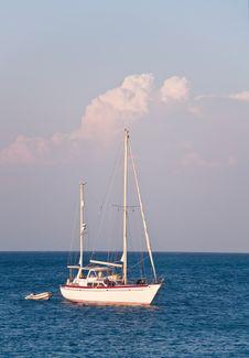 Sailboats At Sea
