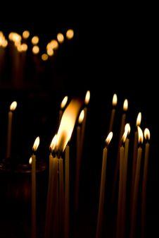 Free Burning Candles Stock Photo - 19789910