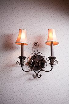 Free Classic Wall Lamp Stock Photos - 19789953