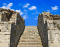 Free Old Stairs And Sky Royalty Free Stock Photography - 19790387